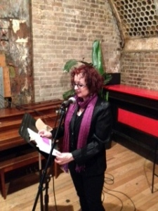 Susana Case: Anaphora Reading at the Yippie Museum Cafe (NY)