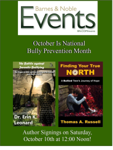 Leonard - Barnes and Noble event flyer