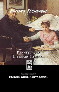 Pennsylvania Literary Journal