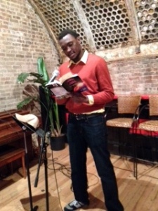 Victor Kai-Rogers: Anaphora Reading at the Yippie Museum Cafe (NY)