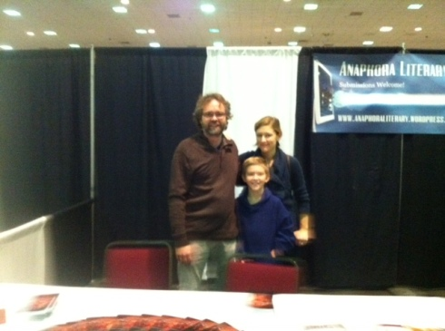 T. Anders Carson at the WV Book Festival