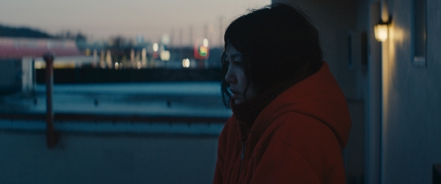 Kumiko on the Balcony