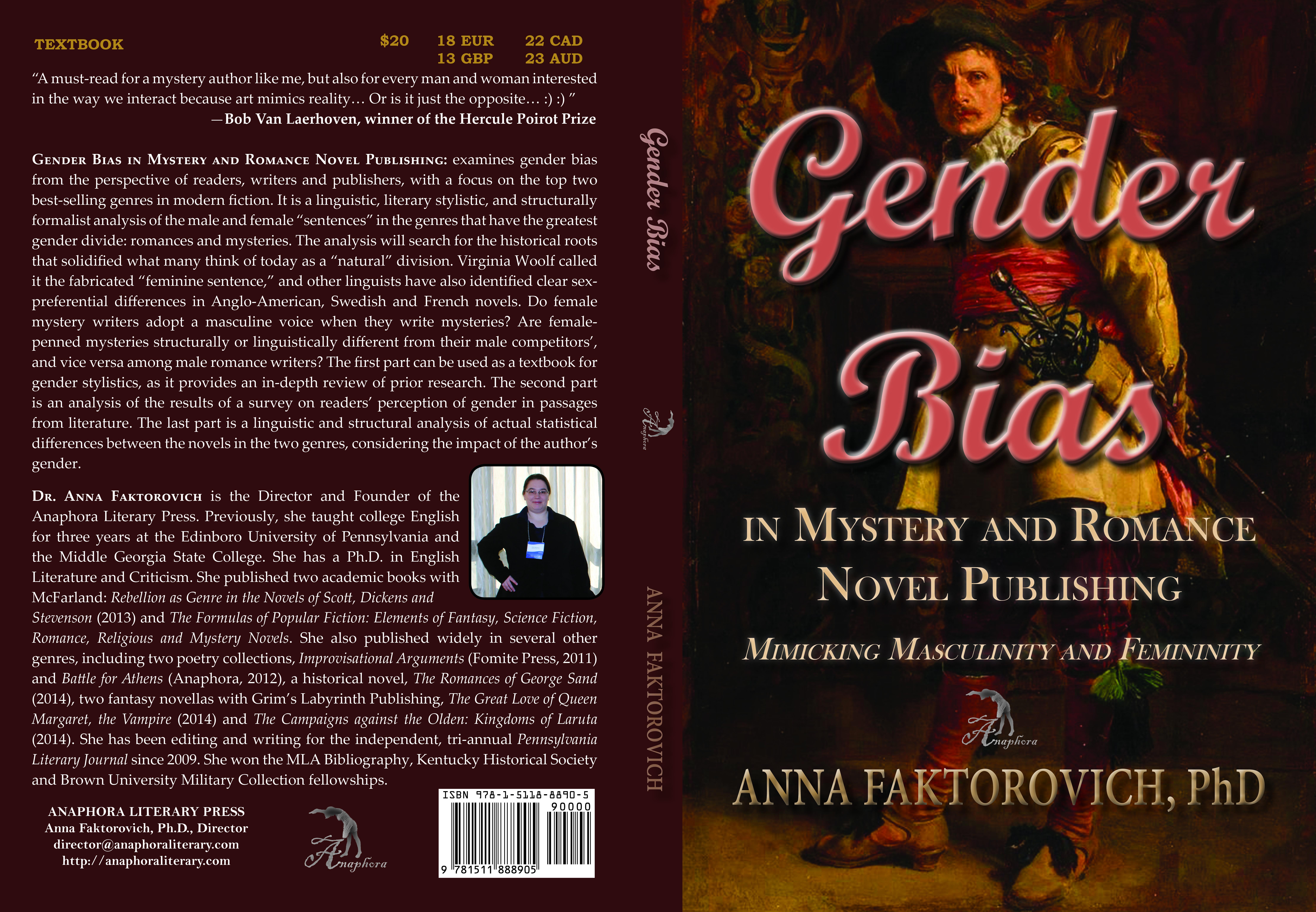 Anna faktorovich anaphora literary press faktorovich gender bias cover 9781511888905 edited fandeluxe Images