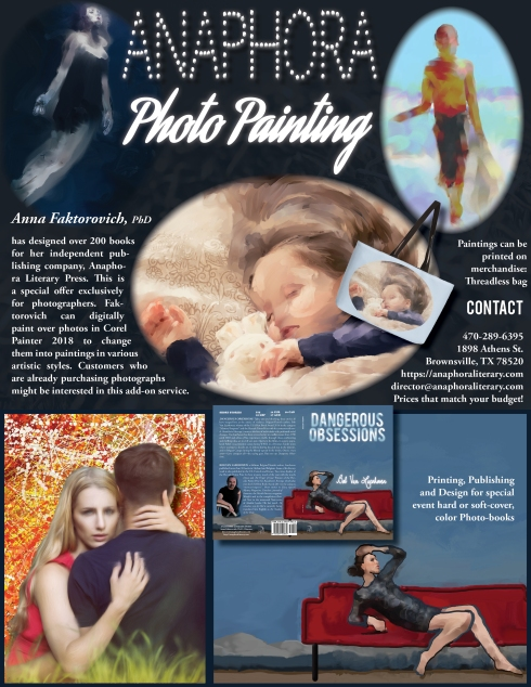 Anaphora - Photo Painting Flyer