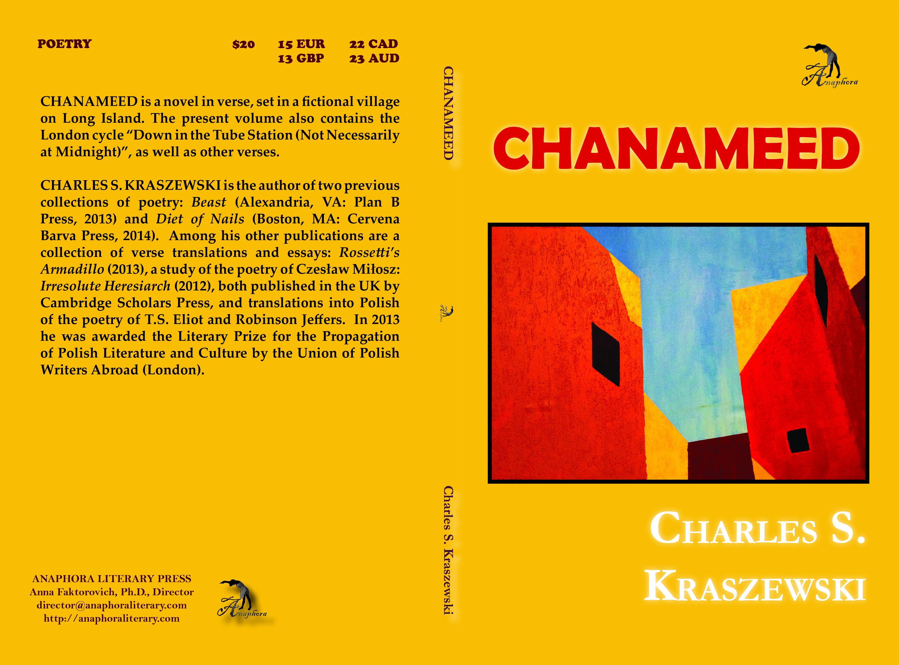 Chanameed: ($15, 124pp, 6x9″, Print Ibsn: 9781503289116, Ebook Isbn:  9781681140155, Lccn: 2014920860, November 27, 2014, Buy On Amazon Or
