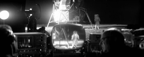 Fig 22 - Rupert Grint acting as the first man on the moon