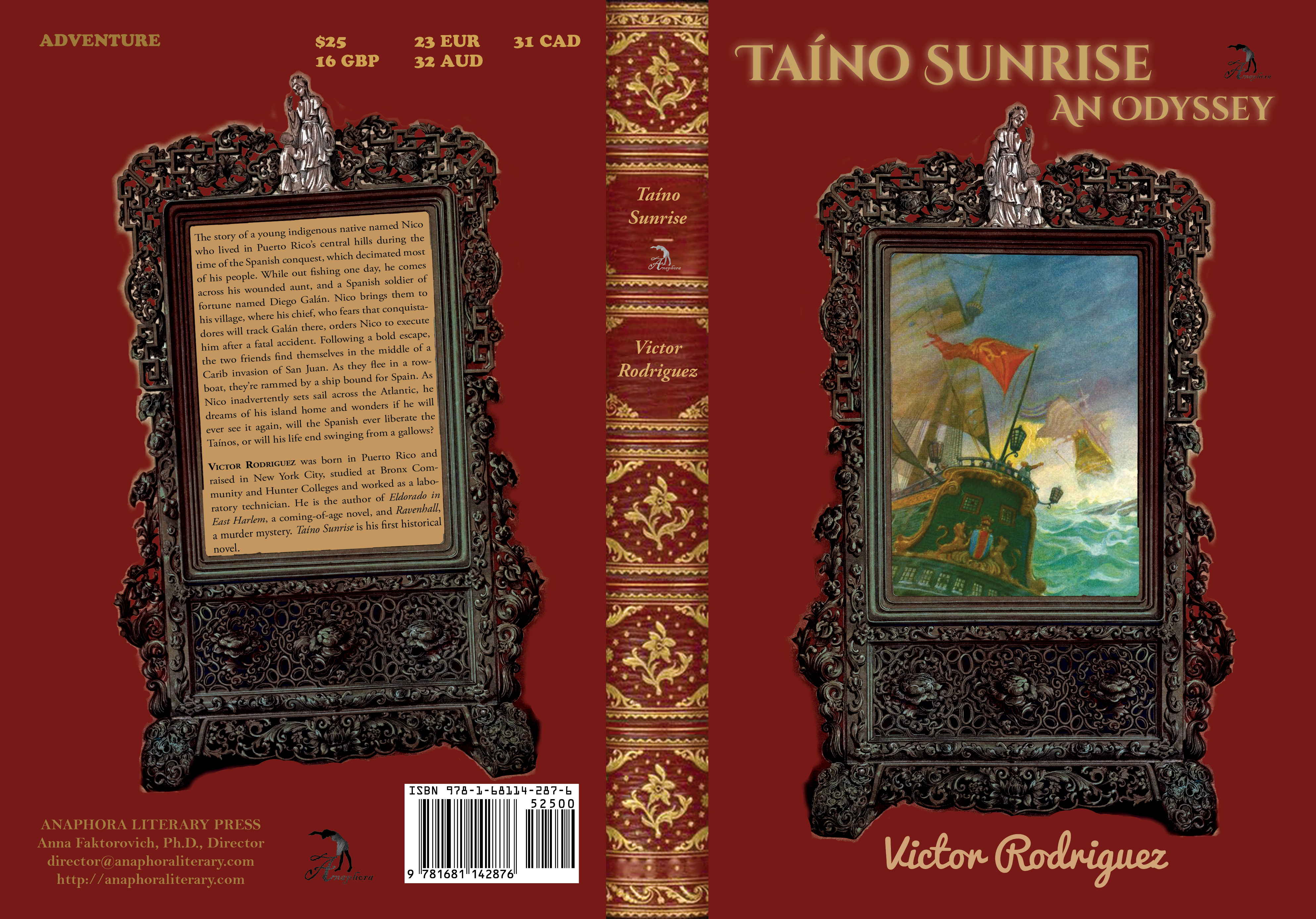Victor Rodriguez Anaphora Literary Press