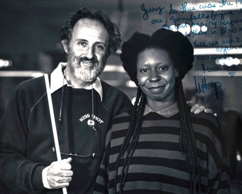 Jerry and Whoopi Goldberg