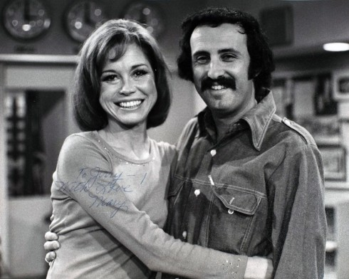 Mary Tyler Moore and Jerry