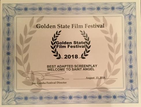 Golden State Film Festival - golden state award